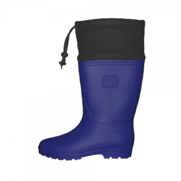 rubber boots strap w navy