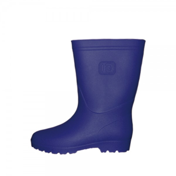 rubber boots w navy