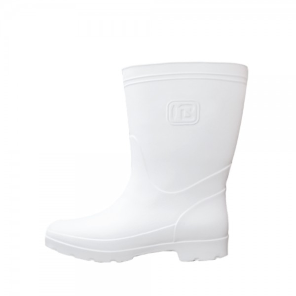 rubber boots w white